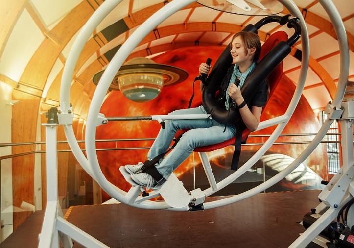 Gyroskop v Techmanii: vyzkoušejte si pocity astronautů...